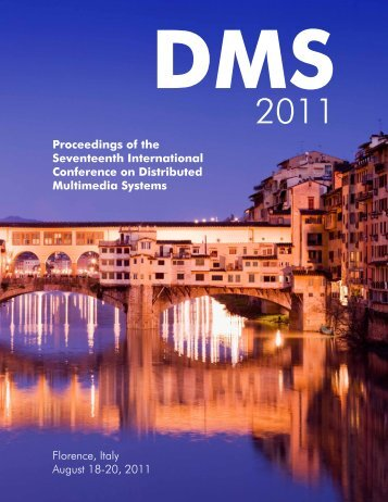 DMS 2011 Proceedings - Knowledge Systems Institute
