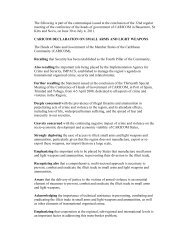 CARICOM Declaration on Small Arms and Light Weapons - PoA-ISS