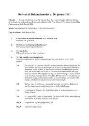 Referat af Birkerådsmødet d. 20. januar 2011