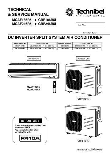 Daikin inverter Air conditioner Instruction Manual