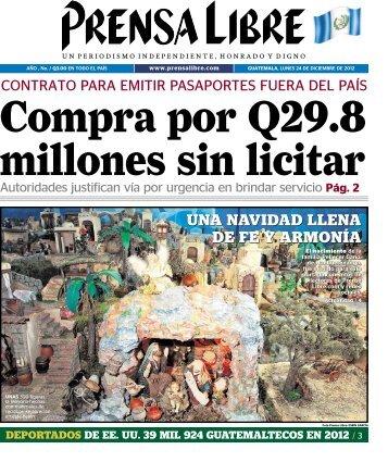 DEL 2012 - Prensa Libre