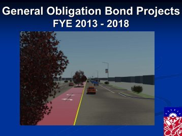 General Obligation Bond Projects General ... - City of Norman