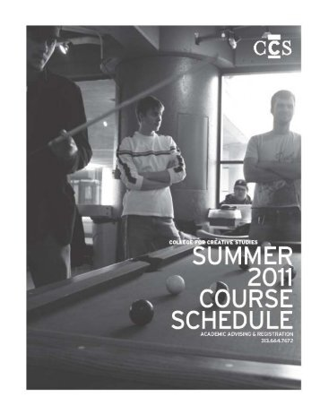 Crafts - CCS - College for Creative Studies