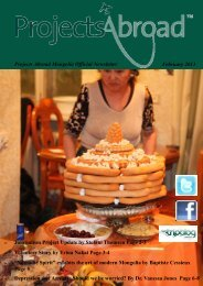 Projects Abroad Mongolia Official Newsletter February 2013 ...