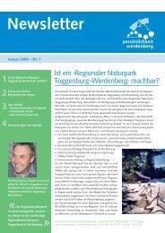 Januar 2006 - Region Werdenberg