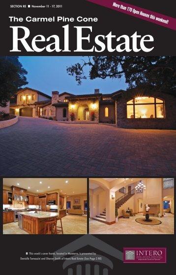 Carmel Pine Cone, November 11, 2011 (real estate) - The Carmel ...