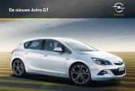 De nieuwe Astra GT - Opel Nederland