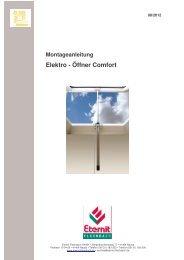 Montageanleitung - Eternit Flachdach GmbH