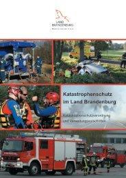Katastrophenschutzverordnung und Verwaltungsvorschriften im ...