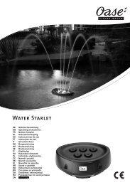 Water Starlet - Oase Teichbau