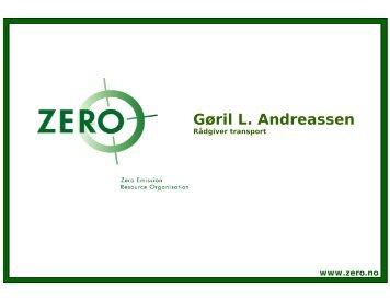 Gøril L. Andreassen - Zero