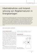 Inbetriebnahme und Instandsetzung von Regelarmaturen in ... - Seite 2
