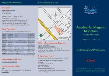 Amateurfunktagung München - OE3