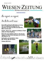 Wiesenzeitung Sonntag 8-Juli - Du-bist-online.de