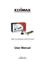 MSI PC60G (MS-6834B) Wireless 11g Turbo G PCI Card