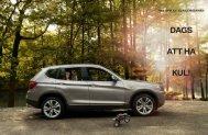 Läs mer Nya BMW X3 skapar glada leenden.