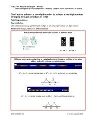 Can I add or subtract a one-digit number to or from a two-digit ...