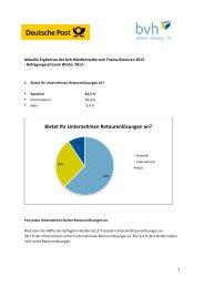 140213_Aktuelle_Ergebnisse_der_bvh-DP-Retourenstudie_2013