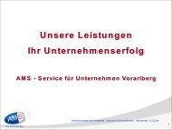 Förderangebote für Unternehmen - Arbeitsmarktservice Österreich
