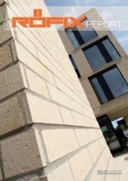 Röfix Report Herbst 2013 - Architektur.terminal