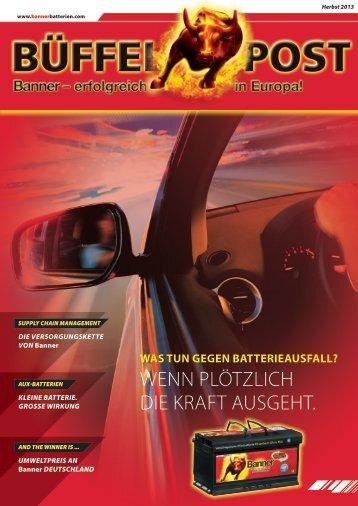 Büffelpost D (7.1 Mb) - Banner GmbH