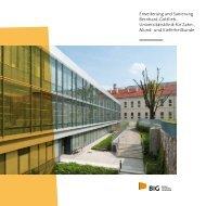 Erweiterung und Sanierung Bernhard-Gottlieb- Universitäts ... - BIG