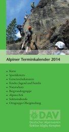 2014 - Deutscher Alpenverein Sektion Kempten