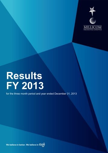 Millicom Earnings Release Q4 vf_0