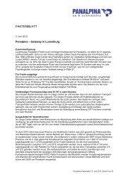Gateway Luxemburg [pdf | 93 KB] - Panalpina