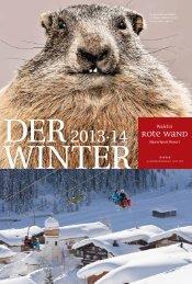Winterprospekt 2013/14 - Hotel Rote Wand