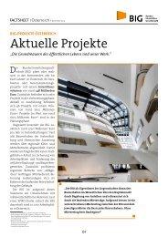 Überblick Projekte Österreich - BIG