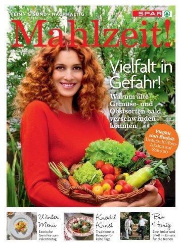 Das neue Mahlzeit! Magazin - Spar