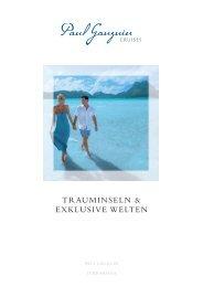 TRAUMINSELN & EXKLUSIVE WELTEN - vista travel