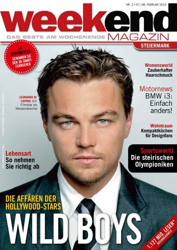 DlE AFFÄREN DER HOLLYWOOD-STARS - Weekend Magazin