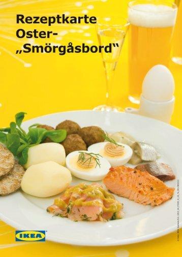 Rezept: Oster-Smörgåsbord - Ikea