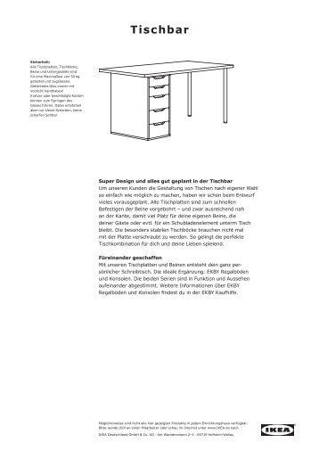 TISCHBAR.pdf (2.236KB) - Ikea