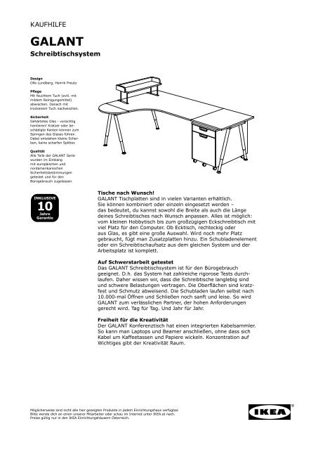 10 Galant Ikea