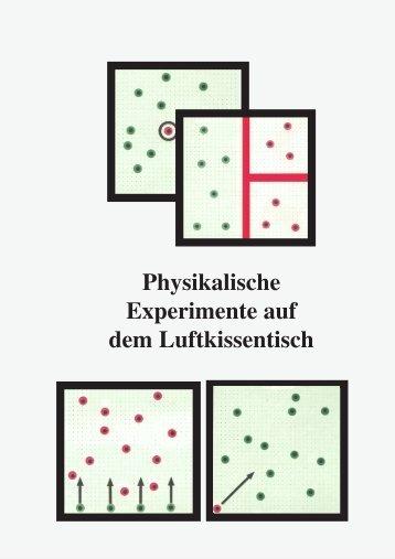 Physikalische Experimente auf dem Luftkissentisch - 3B Scientific