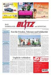 Fest für Frieden, Toleranz und Solidarität - Mecklenburger Blitz ...