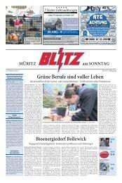 Grüne Berufe sind voller Leben - Mecklenburger Blitz Verlag und ...