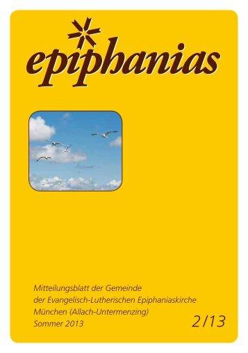 ca. 1,6 MB - Epiphaniasgemeinde München