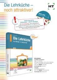Die Lehrküche – noch attraktiver! - Verlag Handwerk und Technik