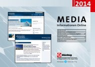 MEDIA Informationen Online - Hüthig GmbH