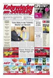 Ausgabe vom 02.02.2014 - Kehrwieder am Sonntag