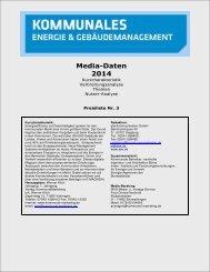 Media-Daten 2014 - Kommunal Marketing