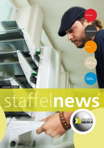staffelnews Nr. 1/2013 - Staffel Druck AG