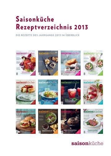 Zum PDF - Saisonküche