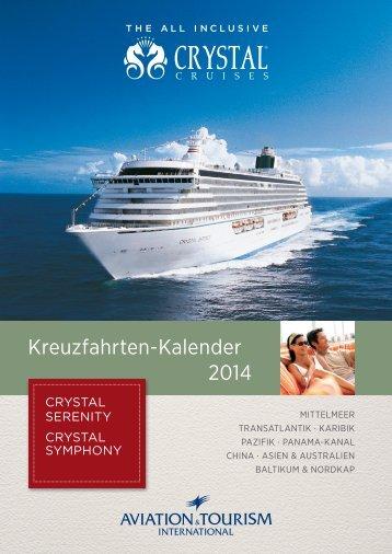 Kreuzfahrten-Kalender 2014 - Exklusive Kreuzfahrten