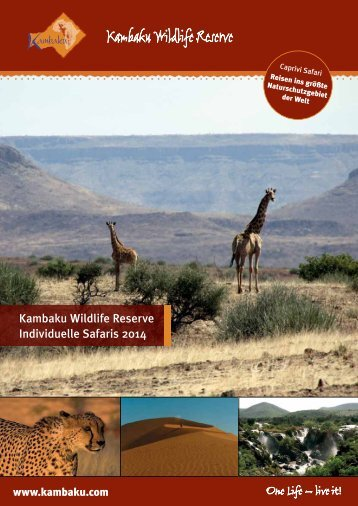 druckbares PDF - Kambaku Safari Lodge