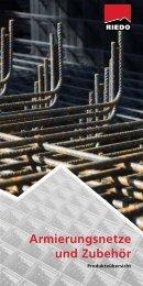 Produktekatalog - Riedo Bau + Stahl AG